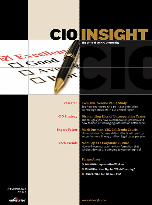 CIO Insight Magazine July 2010